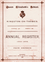 Annual Registers 1883-1904